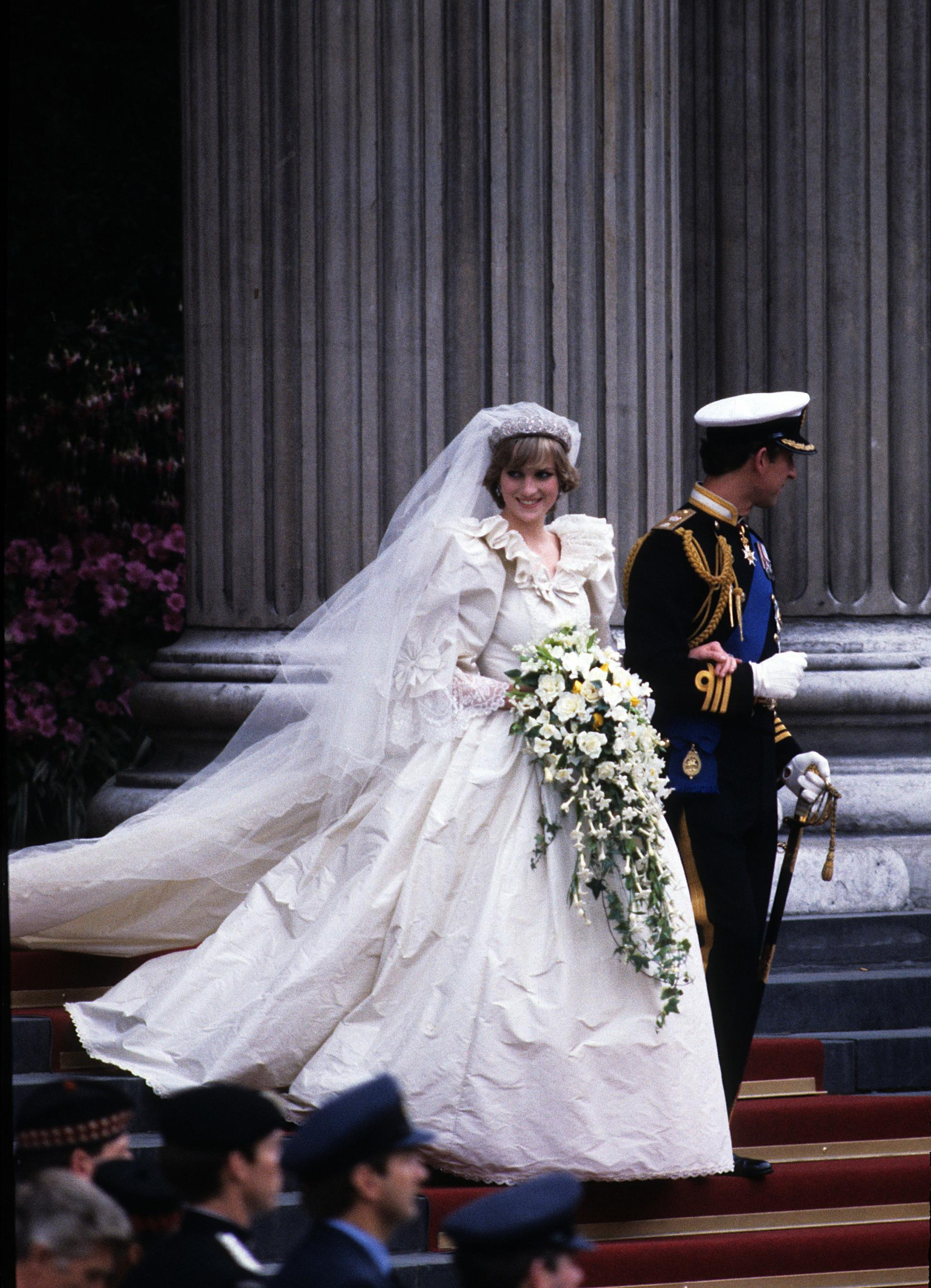 Diana Wedding GettyImages-98672305